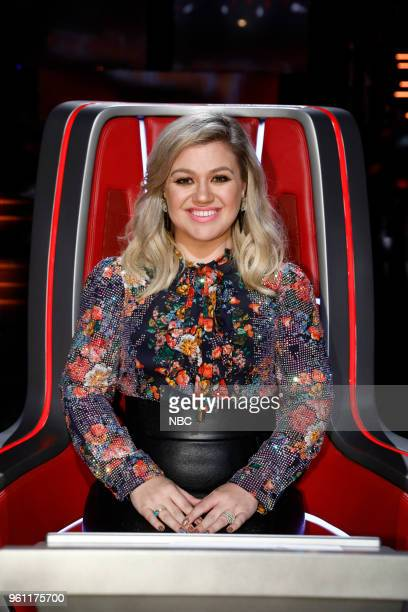 THE VOICE Live Finale Episode 1419A Pictured Kelly Clarkson