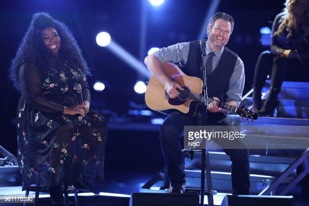 THE VOICE 'Live Finale' Episode 1419A Pictured Kyla Jade Blake Shelton