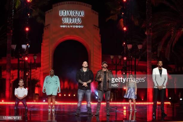 """Live Finale"""" Episode 1524 -- Pictured: Archie Williams, Cristina Rae, Broken Roots, Roberta Battaglia, Brandon Leake --"""
