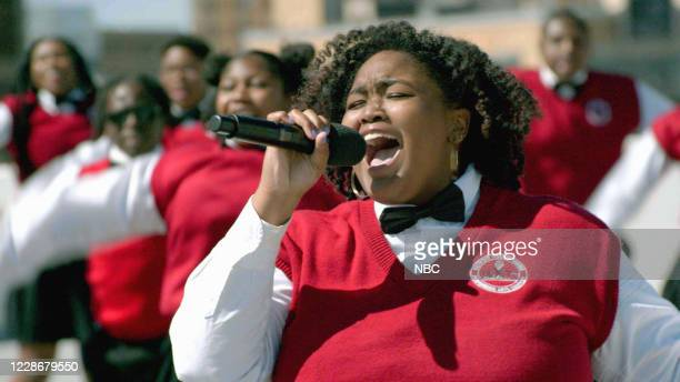 """Live Finale"""" Episode 1524 -- Pictured in this screen grab: Detroit Youth Choir --"""