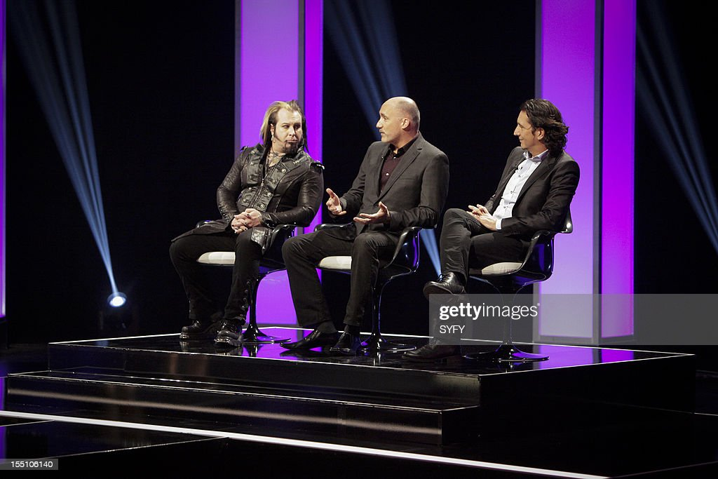 OFF -- 'Live Finale' Episode 312 -- Pictured: (l-r) Judges Glenn Hetrick, Neville Page, Patrick Tatopoulos --