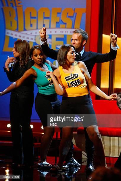 LOSER Live Finale Episode 613 Pictured Jillian Michaels Stacey Capers Heba Salama Bob Harper