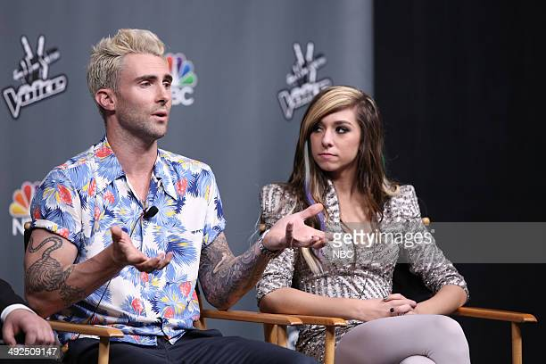 THE VOICE Live Finale Episode 621B Pictured Adam Levine Christina Grimmie
