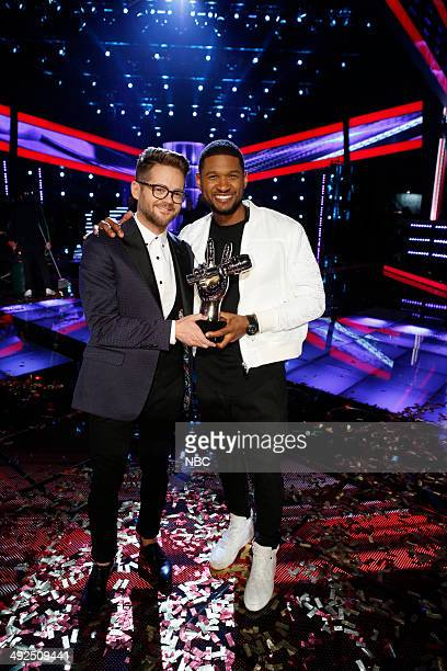 THE VOICE Live Finale Episode 621B Pictured Josh Kaufman Usher