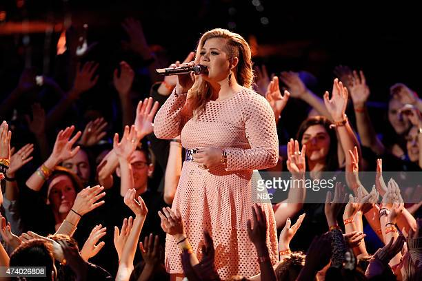THE VOICE 'Live Finale' Episode 818B Pictured Kelly Clarkson