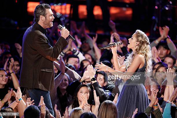 THE VOICE Live Finale Episode 918A Pictured Blake Shelton Emily Ann Roberts