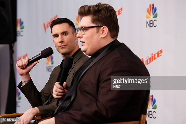 THE VOICE 'Live Finale' Episode 918B Pictured Adam Levine Jordan Smith