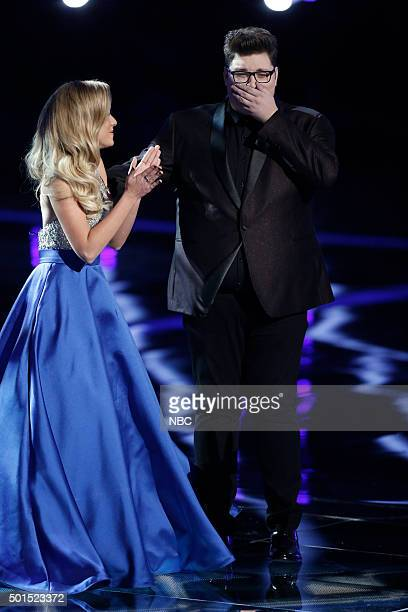 THE VOICE Live Finale Episode 918B Pictured Emily Ann Roberts Jordan Smith