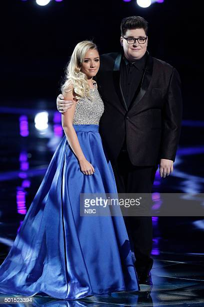 THE VOICE 'Live Finale' Episode 918B Pictured Emily Ann Roberts Jordan Smith