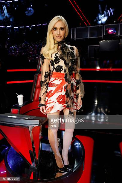 THE VOICE 'Live Finale' Episode 918B Pictured Gwen Stefani