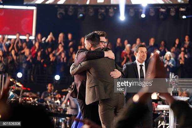 THE VOICE Live Finale Episode 918B Pictured Jordan Smith Adam Levine