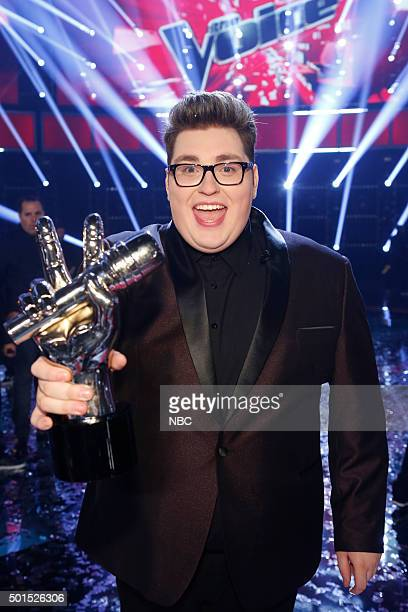 THE VOICE 'Live Finale' Episode 918B Pictured Jordan Smith