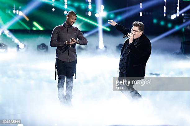 THE VOICE Live Finale Episode 918B Pictured Usher Jordan Smith