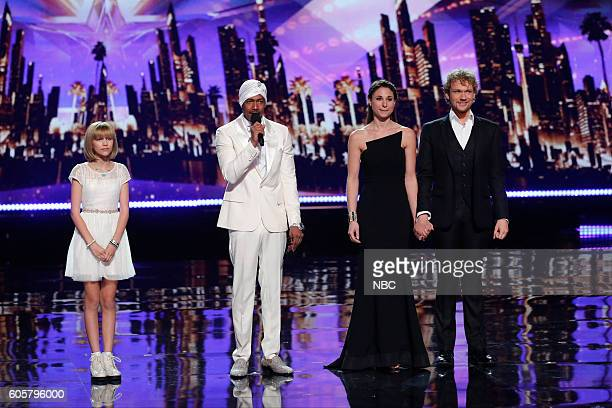 S GOT TALENT 'Live Finale Results' Episode 1123 Pictured Grace VanderWaal Nick Cannon The Clairvoyants