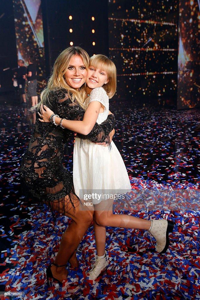 S GOT TALENT -- 'Live Finale Results' Episode 1123 -- Pictured: (l-r) Heidi Klum, Grace VanderWaal --