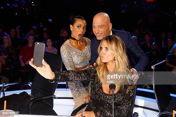 S GOT TALENT 'Live Finale Results' Episode 1123 Pictured Mel B Howie Mandel Heidi Klum