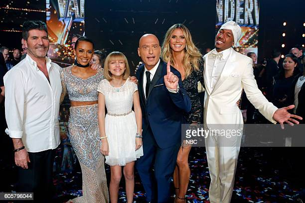 S GOT TALENT 'Live Finale Results' Episode 1123 Pictured Simon Cowell Mel B Grace VanderWaal Howie Mandel Heidi Klum Nick Cannon
