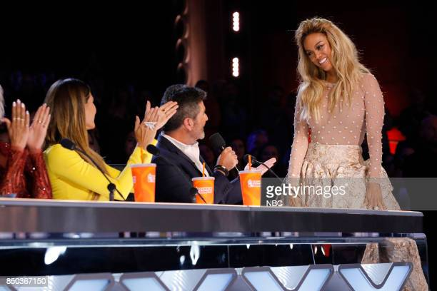 S GOT TALENT 'Live Finale Results' Episode 1224 Pictured Heidi Klum Simon Cowell Tyra Banks