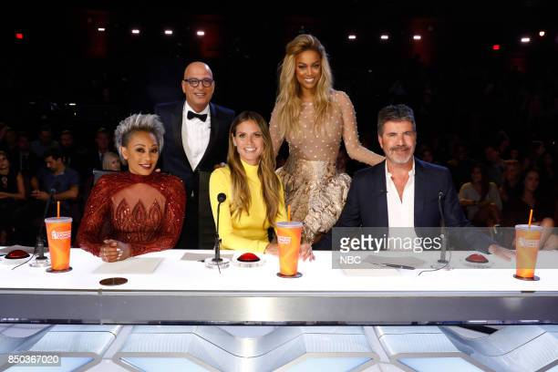 S GOT TALENT 'Live Finale Results' Episode 1224 Pictured Mel B Howie Mandel Heidi Klum Tyra Banks Simon Cowell