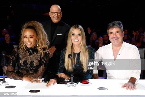 S GOT TALENT Live Finale Results Episode 1322 Pictured Mel B Howie Mandel Heidi Klum Simon Cowell