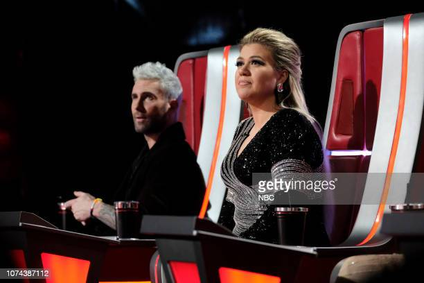 THE VOICE Live Finale Results Episode 1519B Pictured Adam Levine Kelly Clarkson