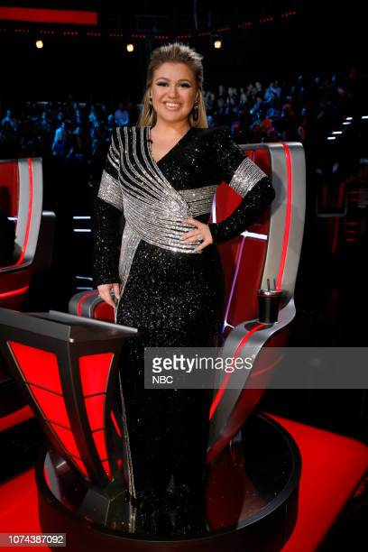 THE VOICE Live Finale Results Episode 1519B Pictured Kelly Clarkson