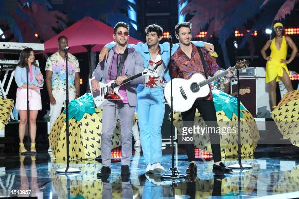 THE VOICE Live Finale Results Episode 1616B Pictured Jonas Brothers