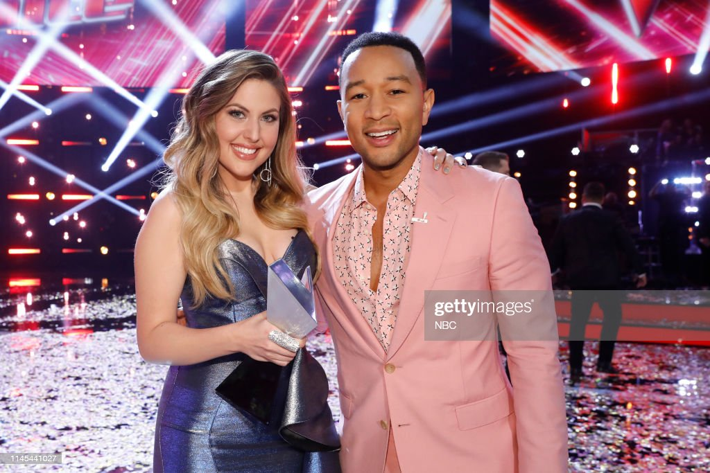 "CA: NBC's ""The Voice"" - Live Finale Results"