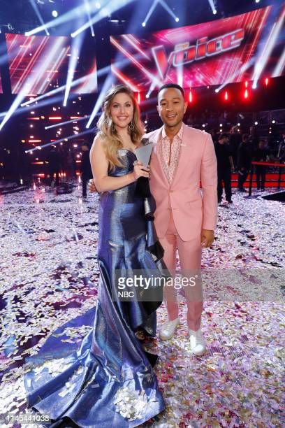 THE VOICE Live Finale Results Episode 1616B Pictured Maelyn Jarmon John Legend