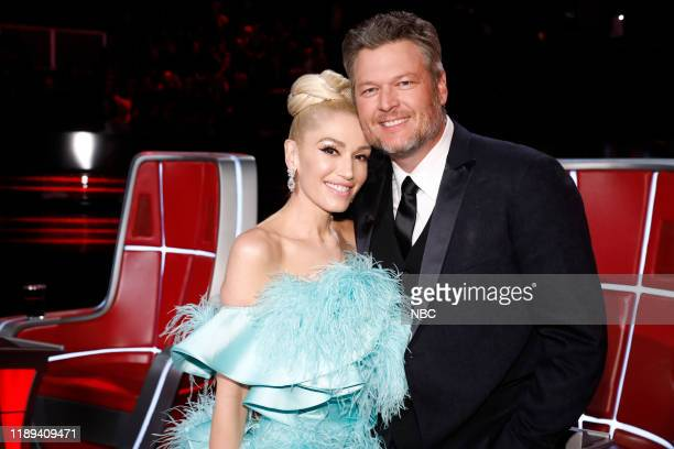 THE VOICE Live Finale Results Episode 1720B Pictured Gwen Stefani Blake Shelton