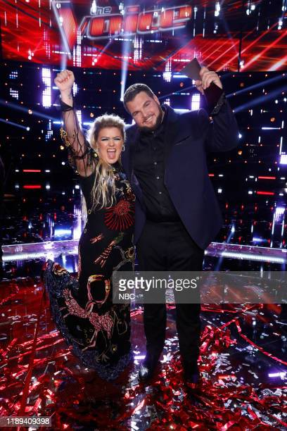 THE VOICE Live Finale Results Episode 1720B Pictured Kelly Clarkson Jake Hoot