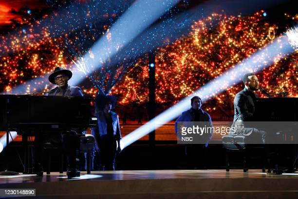 "Live Finale Results"" Episode 1914B -- Pictured: John Holiday, John Legend --"