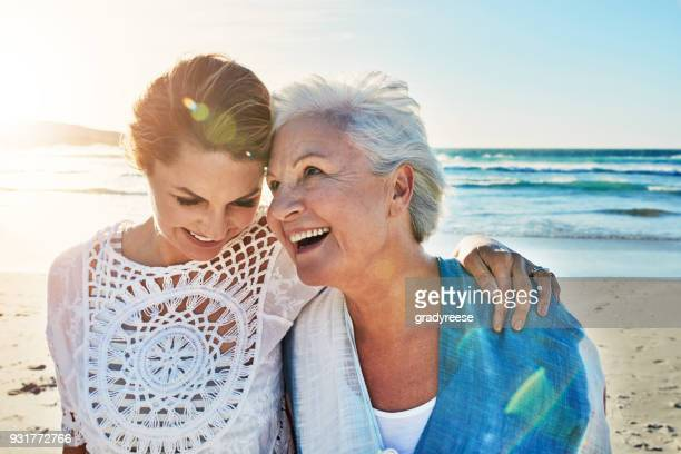 i live for days like this - mother daughter stock photos and pictures