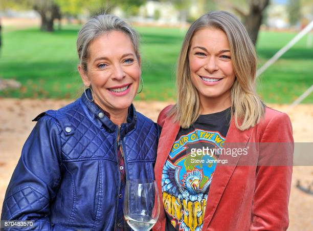 Live In The Vinyard Founder Bobbie HachJacobs and Singer LeAnn Rimes attend Day 3 of Live In The Vineyard 2017 at Sutter Home Winery on November 4...