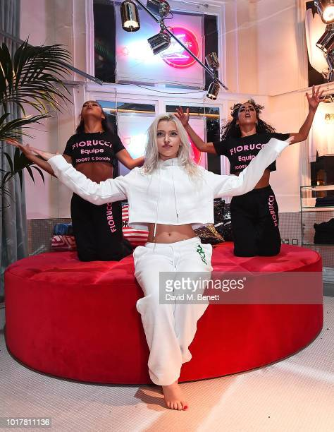 Live instore performance of Alice for Fiorucci on August 16 2018 in London England