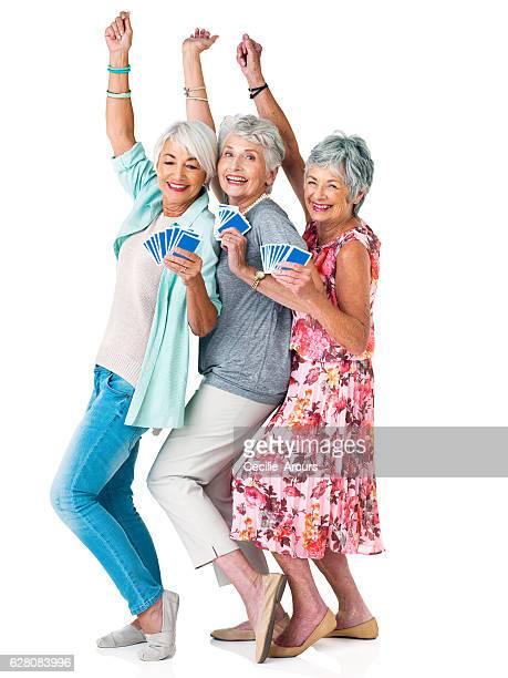 live life like a poker game, go all in - bridge card game stock-fotos und bilder