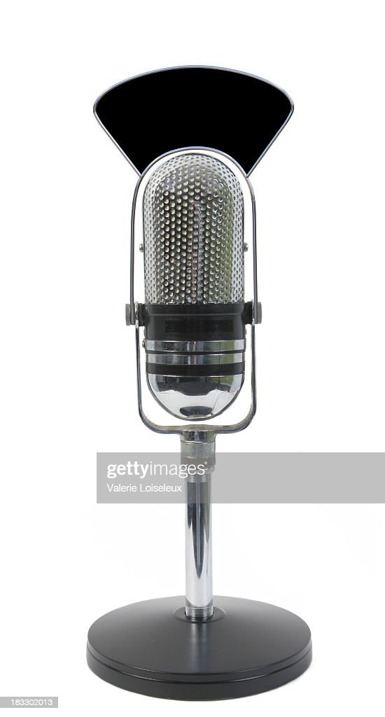 Live microphone : Stock Photo