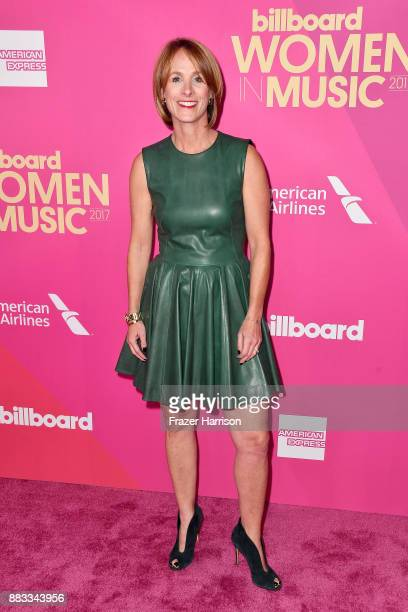 Live Nation Entertainment Chief Marketing Officer of US Concerts Lisa Licht attends Billboard Women In Music 2017 at The Ray Dolby Ballroom at...