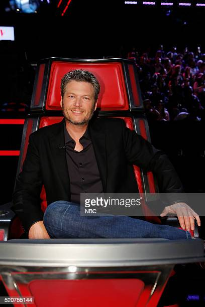 THE VOICE 'Live Playoffs' Episode 1012B Pictured Blake Shelton