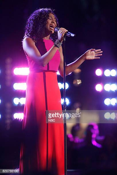 THE VOICE 'Live Playoffs' Episode 1012B Pictured Shalyah Fearing