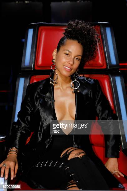 THE VOICE 'Live Playoffs' Episode 1214B Pictured Alicia Keys