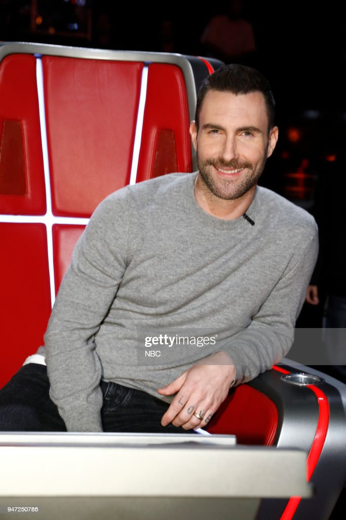 THE VOICE -- 'Live Playoffs' Episode 1414A -- Pictured: Adam Levine --