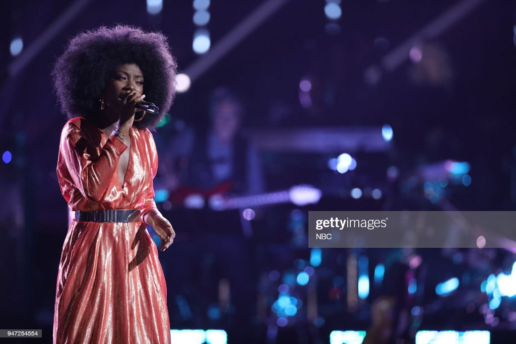THE VOICE -- 'Live Playoffs' Episode 1414A -- Pictured: Christiana Danielle --
