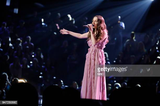 THE VOICE 'Live Playoffs' Episode 1414A Pictured Jackie Verna