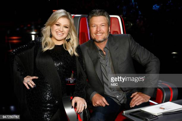 THE VOICE Live Playoffs Episode 1414A Pictured Kelly Clarkson Blake Shelton
