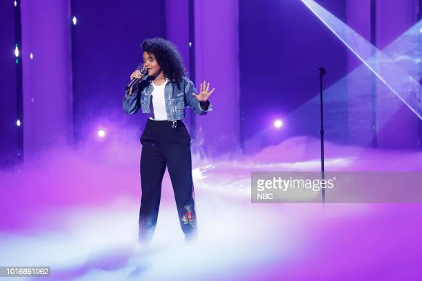 S GOT TALENT 'Live Quarter Finals 1' Episode 1311 Pictured Amanda Mena