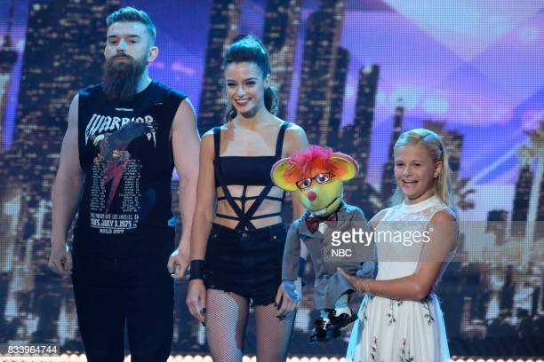 S GOT TALENT 'Live Results 1' Episode 1214 Pictured Billy Emily England Darci Lynne