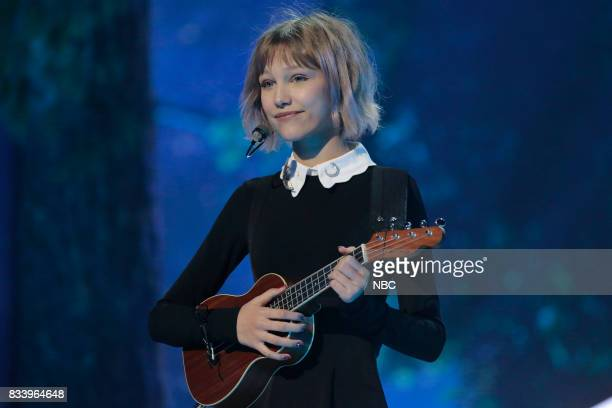 S GOT TALENT 'Live Results 1' Episode 1214 Pictured Grace Vanderwaal