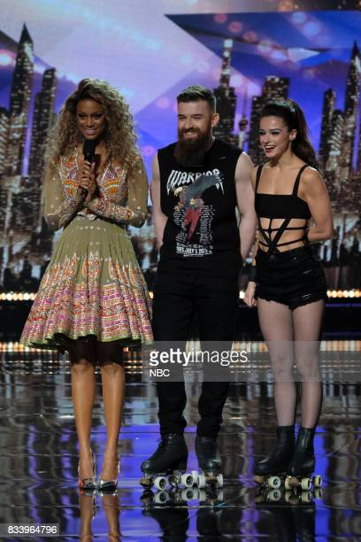 S GOT TALENT Live Results 1 Episode 1214 Pictured Tyra Banks Billy Emily England