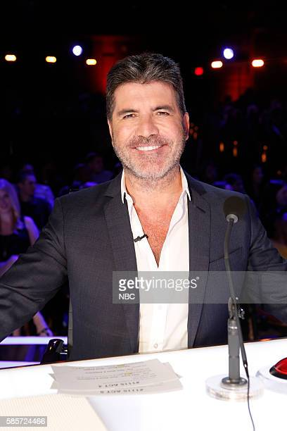 S GOT TALENT 'Live Results 2' Episode 1114 Pictured Simon Cowell
